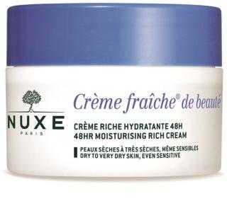 Nuxe Creme Fraîche de Beauté hydratisierende und nährende Creme für trockene bis sehr trockene Haut