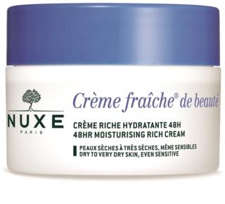 Nuxe Creme Fraîche de Beauté Хидратиращ и подхранващ крем за суха или много суха кожа