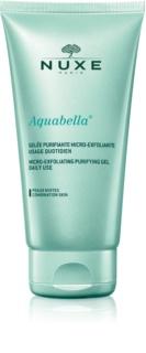 Nuxe Aquabella hámlasztó tisztító gél kombinált bőrre