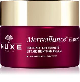 Nuxe Merveillance Expert нічний зміцнюючий крем з ліфтинговим ефектом
