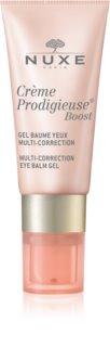 Nuxe Crème Prodigieuse Boost balsamo in gel multicorrettore per il contorno occhi