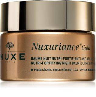 Nuxe Nuxuriance Gold подхранващ нощен балсам за подсилване на кожата