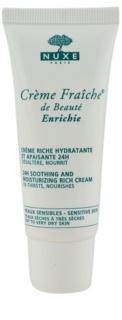 Nuxe Crème Fraîche de Beauté beruhigende und hydratisierende Creme für trockene bis sehr trockene Haut