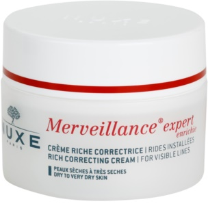 Nuxe Merveillance krema proti gubam za suho do zelo suho kožo