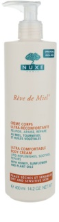 Nuxe Rêve de Miel Körpercreme für trockene Haut