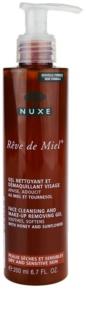 Nuxe Reve de Miel почистващ гел  за чувствителна и суха кожа