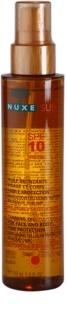 Nuxe Sun olje za sončenje za obraz in telo SPF 10