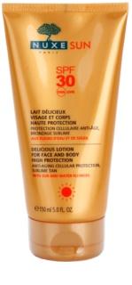 Nuxe Sun lait solaire visage et corps SPF 30