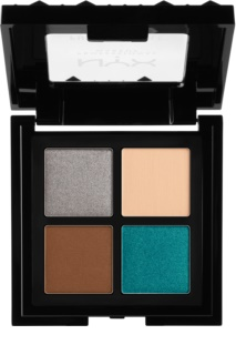 NYX Professional Makeup Full Throttle paleta očních stínů