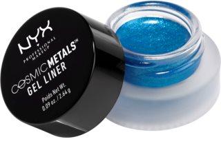 NYX Professional Makeup Cosmic Gel Liner™ eyeliner-gel cu particule stralucitoare