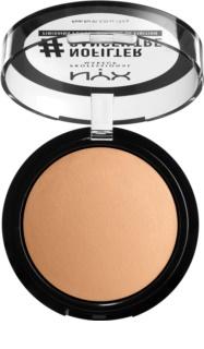 NYX Professional Makeup #Nofilter púder
