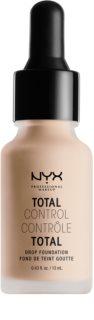 NYX Professional Makeup Total Control tekutý make-up s pipetou
