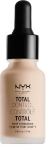 NYX Professional Makeup Total Control tekutý make-up s pipetou