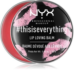 NYX Professional Makeup #Thisiseverything balsam do ust