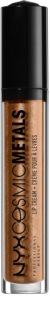NYX Professional Makeup Cosmic Metals™ metalikus folyékony ajakrúzs