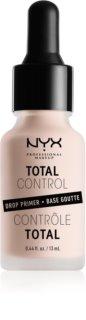 NYX Professional Makeup Total Control Drop Primer base de maquilhagem
