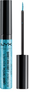NYX Professional Makeup Liquid Crystal Liner tekuté oční linky se třpytkami