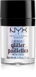 NYX Professional Makeup Glitter Goals Metallic Glitter for Face and Body