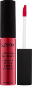 NYX Professional Makeup Soft Matte matná tekutá rtěnka