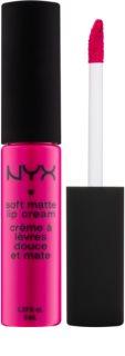 NYX Professional Makeup Soft Matte mattító folyékony rúzs