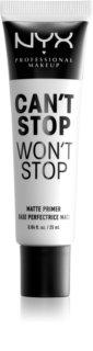 NYX Professional Makeup Can't Stop Won't Stop base de maquilhagem