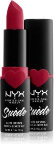 NYX Professional Makeup Suede Matte Lipstick rouge à lèvres mat