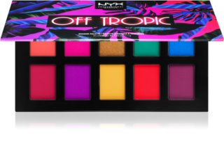 NYX Professional Makeup Off Tropic Oogschaduw Palette