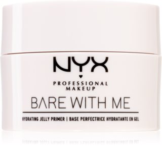 NYX Professional Makeup Bare With Me Hydrating Jelly Primer prebase de maquillaje con textura de gel