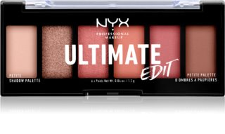 NYX Professional Makeup Ultimate Edit Petite Shadow paleta senčil za oči