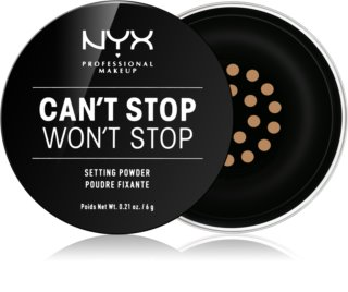 NYX Professional Makeup Can't Stop Won't Stop pó solto