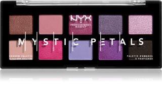 NYX Professional Makeup Mystic Petals paleta senčil za oči