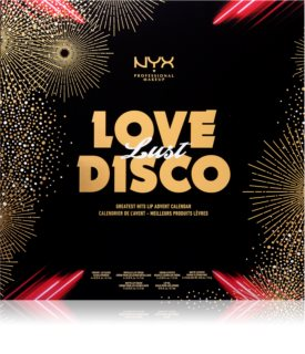 NYX Professional Makeup Love Lust Disco Greatest Hits  adventski kalendar