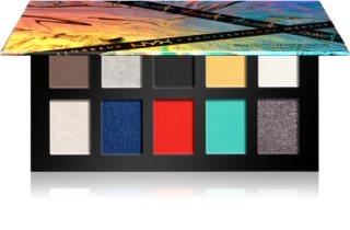 NYX Professional Makeup Aquaria x NYX Professional Makeup paleta sjenila za oči