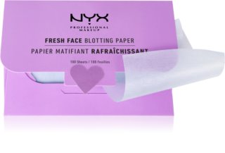 NYX Professional Makeup Blotting Paper papiers matifiants à l'acide salicylique