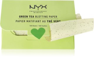 NYX Professional Makeup Blotting Paper servetele absorbante cu ceai verde