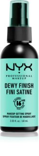 NYX Professional Makeup Dewy Finish spray fixador