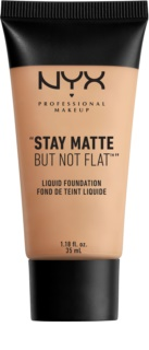 NYX Professional Makeup Stay Matte But Not Flat folyékony make-up