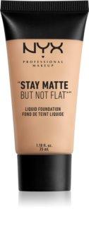 NYX Professional Makeup Stay Matte But Not Flat machiaj lichid cu un finisaj mat