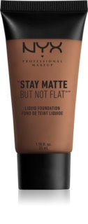 NYX Professional Makeup Stay Matte But Not Flat Flüssig-Foundation mit mattem Finish