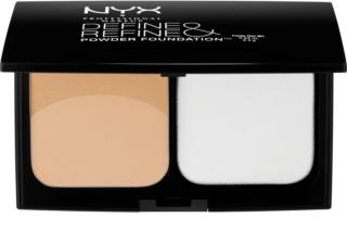 NYX Professional Makeup Define & Refine Puder-Make-up