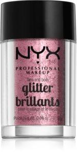 NYX Professional Makeup Glitter Goals sclipici pentru față și corp