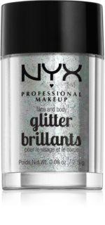 NYX Professional Makeup Glitter Goals glitter per viso e corpo