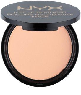 NYX Professional Makeup Matte Bronzer bronzeador