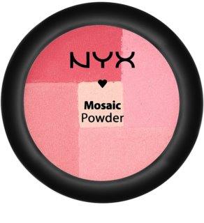 NYX Professional Makeup Mosaic pudrová tvářenka