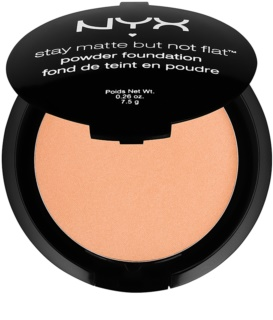 NYX Professional Makeup Stay Matte But Not Flat base de pó com efeito matificante