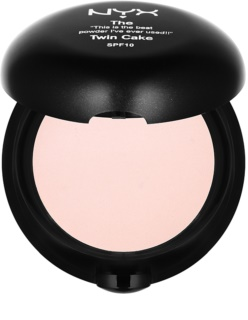 NYX Professional Makeup Twin Cake poudre compacte SPF 10