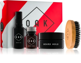 OAK Natural Beard Care kit di cosmetici I.