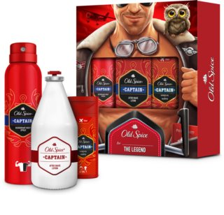 Old Spice Captain Gift Set I. (for Men)