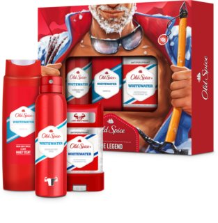 Old Spice Whitewater Gift Set  VII. (voor Mannen )