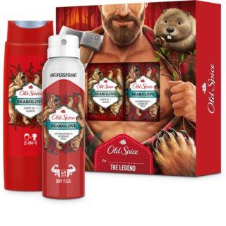 Old Spice Bearglove Gift Set  I. (voor Mannen )